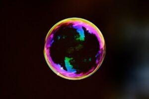 Yield farming bubbel