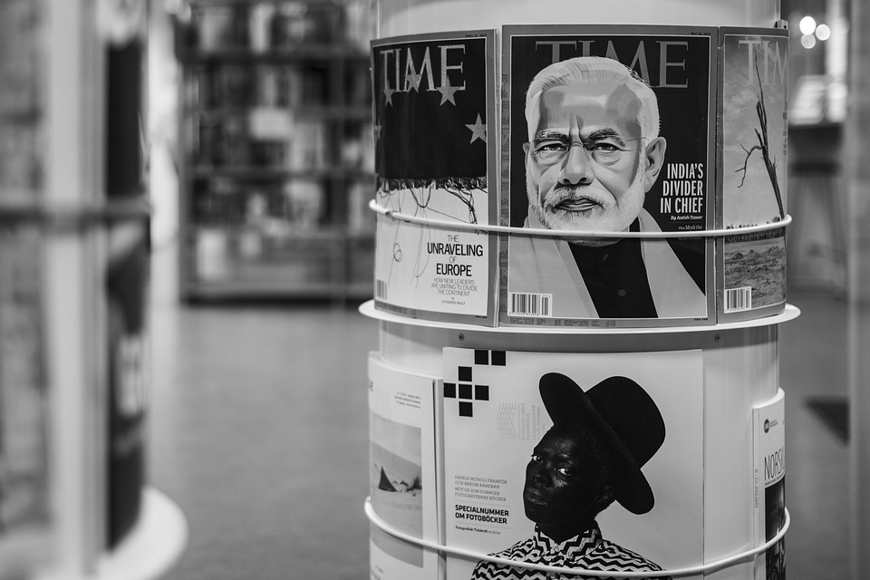 Time Magazine Grayscale