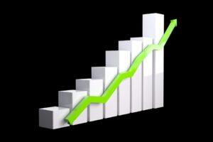 Cryptocurrency stijgen